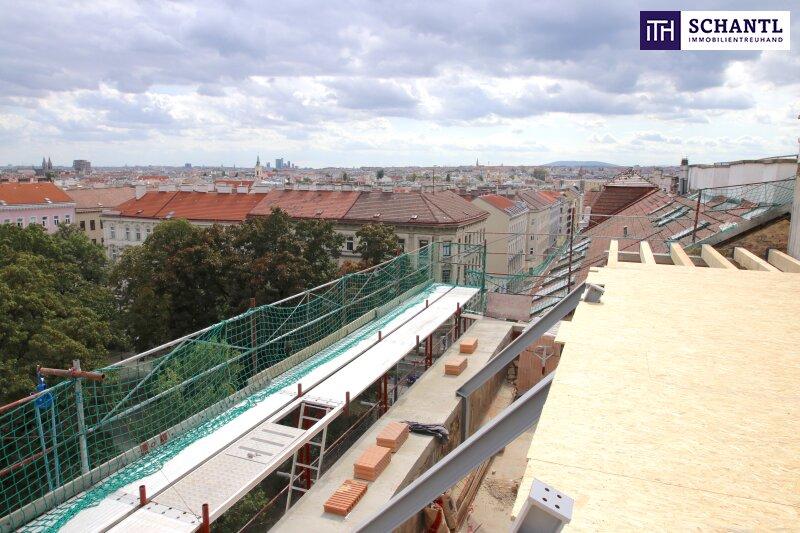 Perfekt geschnittene Dachgeschosswohnung! Drei Zimmer + Top Ausstattung + Grandioser Fernblick! /  / 1170Wien / Bild 2