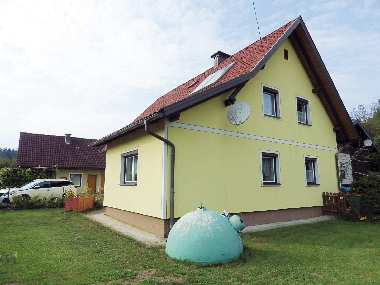 Haus Ansicht Süd-Ost