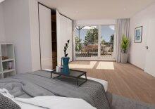 Dachtraum (Top 28), 2 Zimmer, Provisionsfrei, Erstbezug, Erstklassige Ausstattung, Neubau, luxuriös + Dachterrasse, Garage