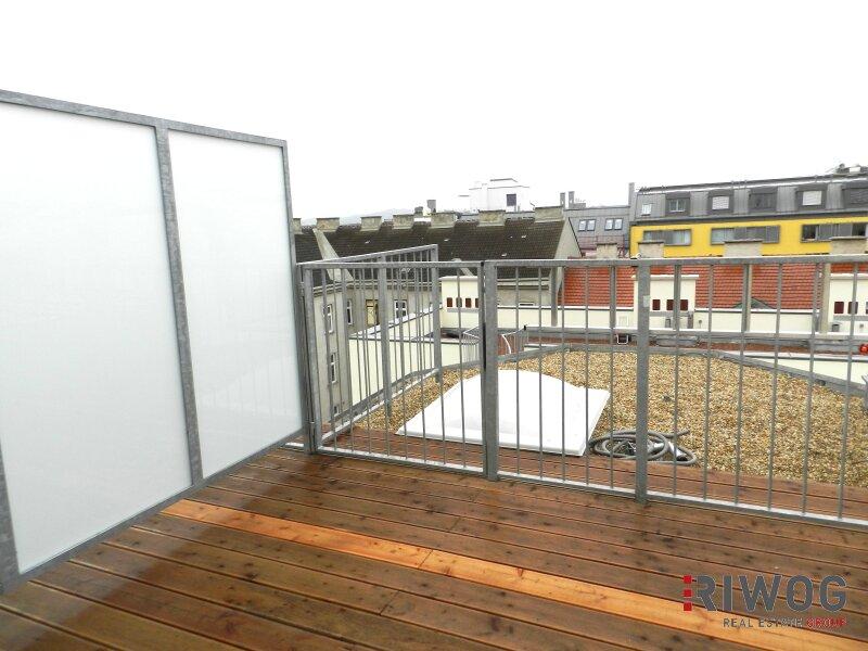 HOCH DROBEN in Rudolfsheim-Fünfhaus - Top DG-Wohnung mit Traumterrasse in die Ruhelage /  / 1150Wien / Bild 1