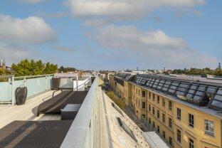 Über den Dächern von Oberdöbling: Luxuriöse DG-Wohnung mit 3 Terrassen und Garage!