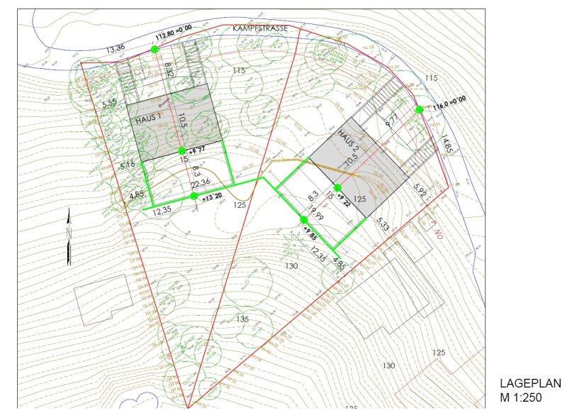2.663 m² Baugrund in PENZING / Projektiert für 2 Doppelhäuser /  / 1140Wien / Bild 1