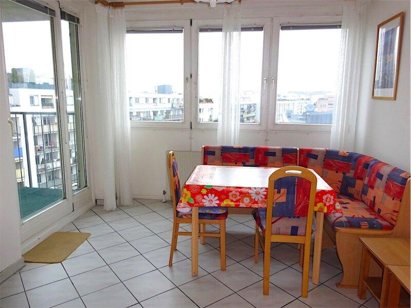 Loggiaweitblick:  2 Zimmer + Wohnküche, 6. Liftstock, Baujahr 1995, sonnig + ruhig, U3-Nähe! /  / 1030Wien / Bild 0
