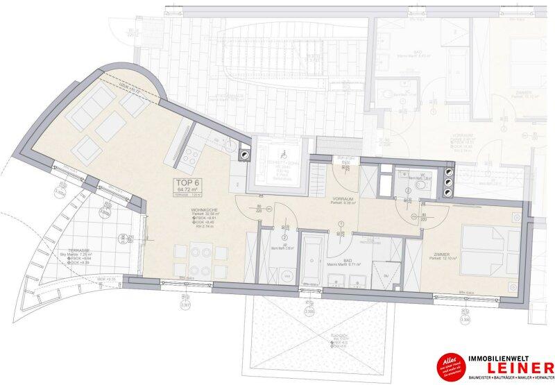 Leben mit Stil – 2 Zimmer Designtraum in Schwechat Objekt_10991 Bild_688