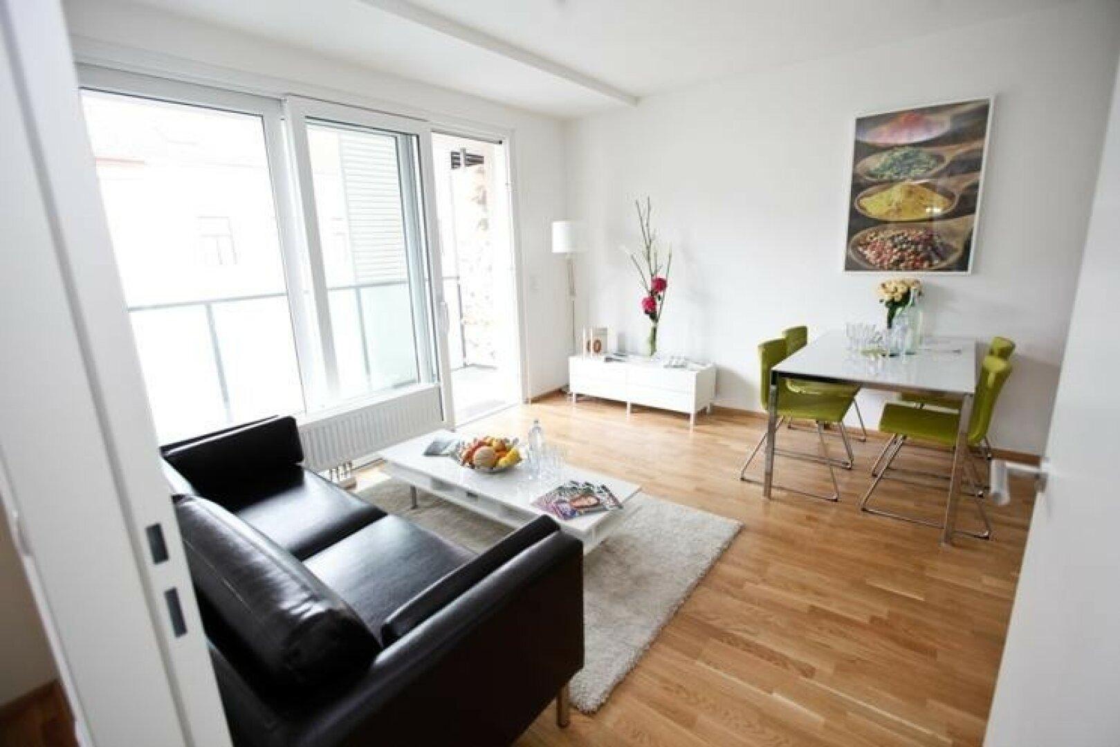 Wohnzimmer Musterfoto