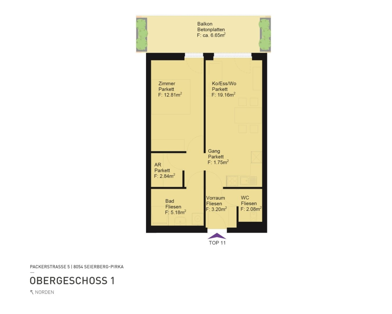Grundriss: Packerstraße 5 -8054 Seiersberg-Pirka