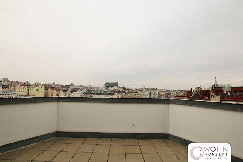 Traumhafte Dachterrassen-Maisonette in repräsentativem Altbau - schön renoviert auf 91m² mit Einbauküche 1040 Wien /  / 1040Wien / Bild 1