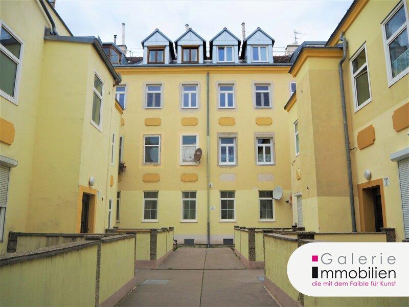 Innenhof- und Ruhelage - Charmante 2-Zimmer-Altbauwohnung Objekt_33763