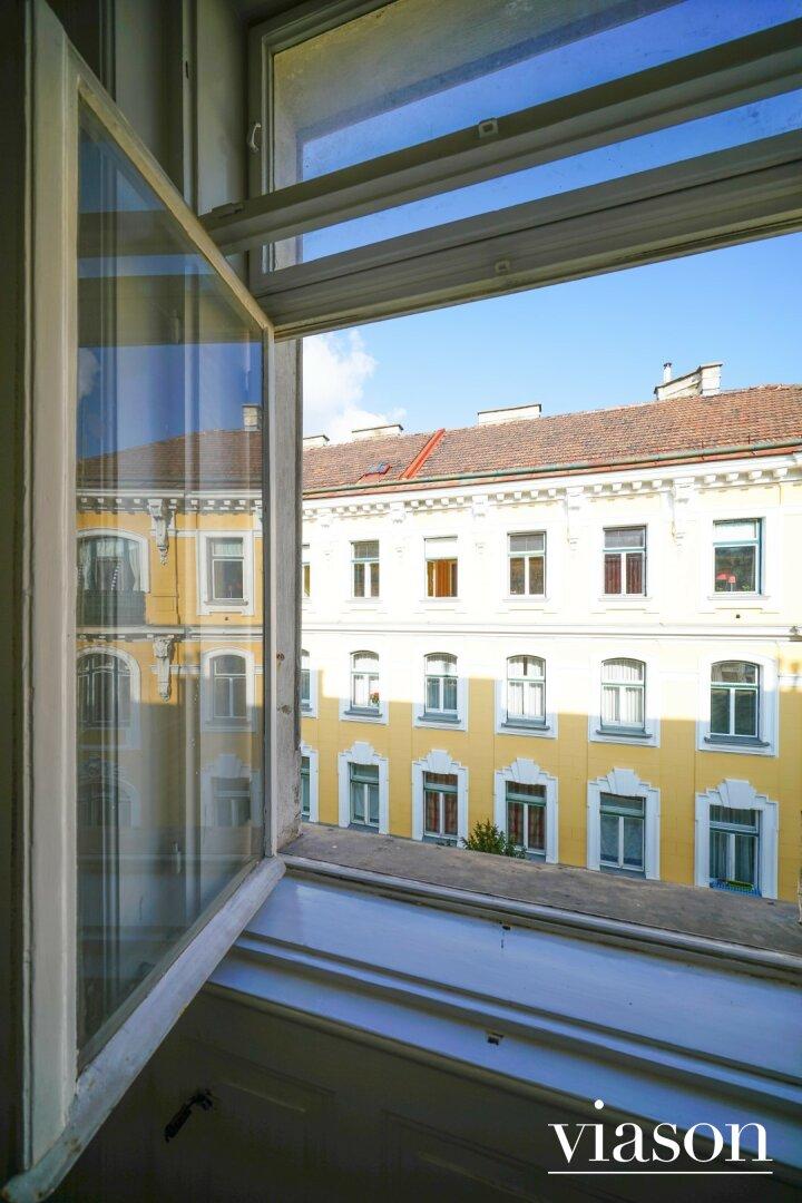 Blick aus den Zimmern