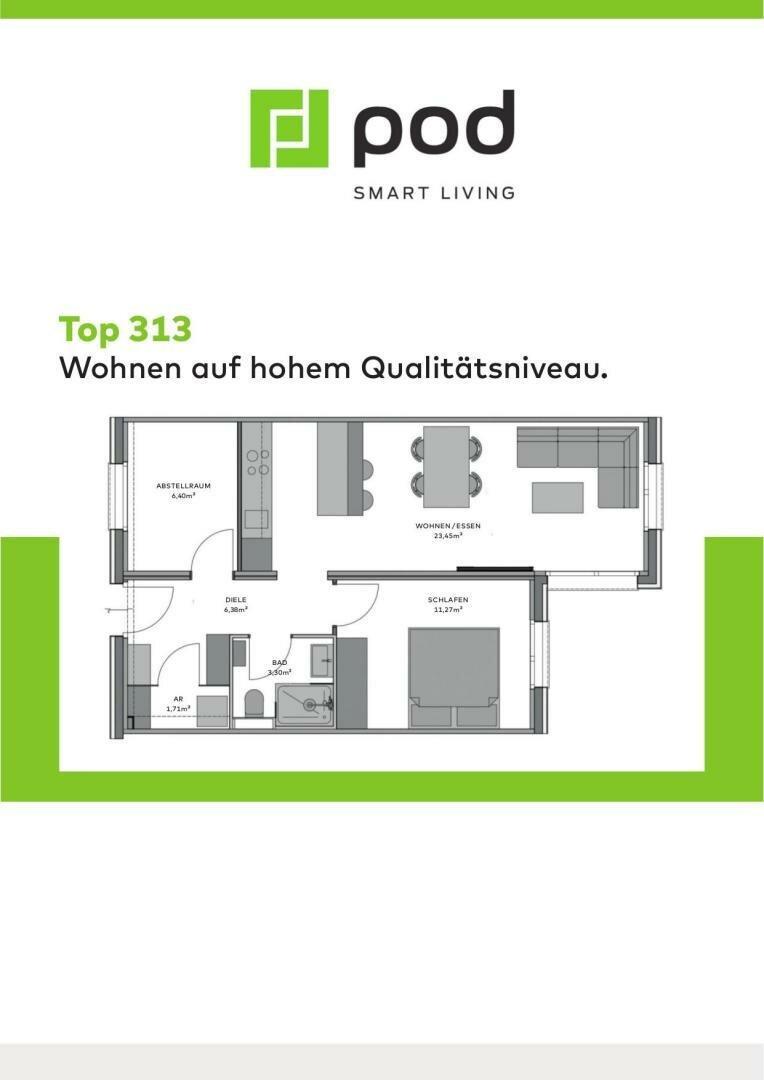 Wohnungsplan Top 313