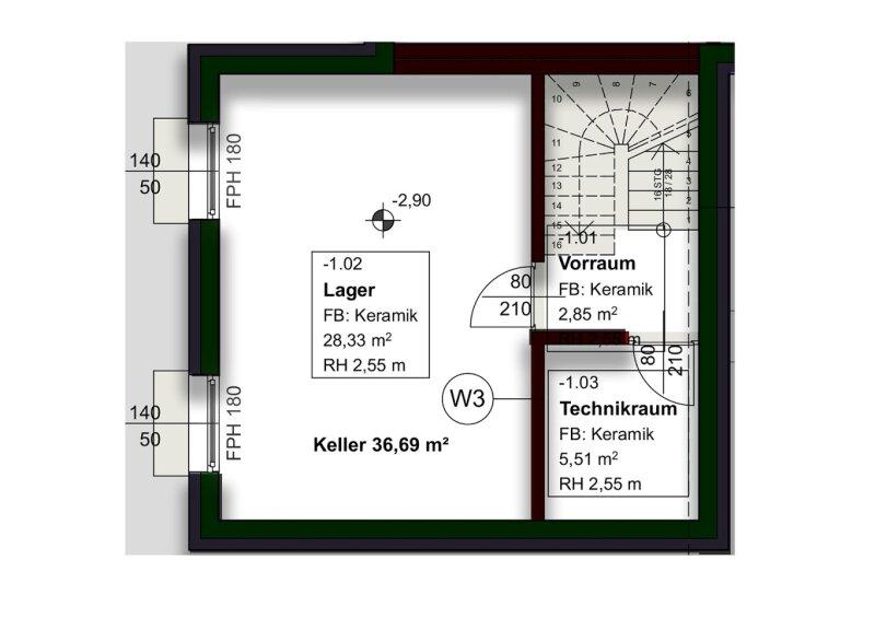 Doppelhaushälfte mit optimaler Raumaufteilung in bester Lage - bei S-Bahn Silberwald! /  / 2231Strasshof an der Nordbahn / Bild 9