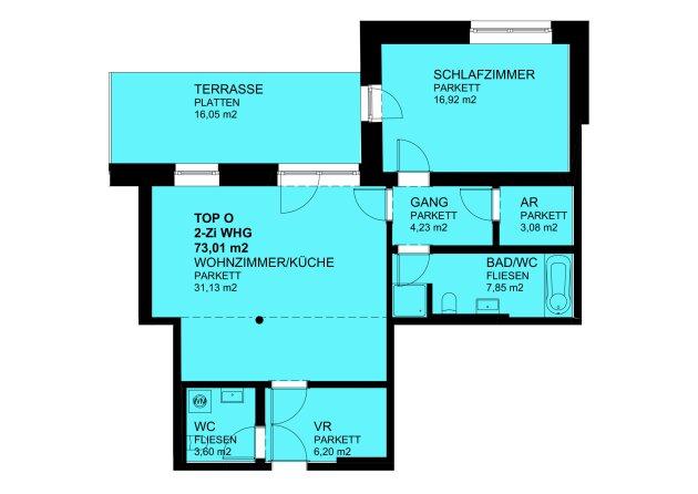 Sonnige 2-Zimmer-Terrassenwohnung - Photo 4