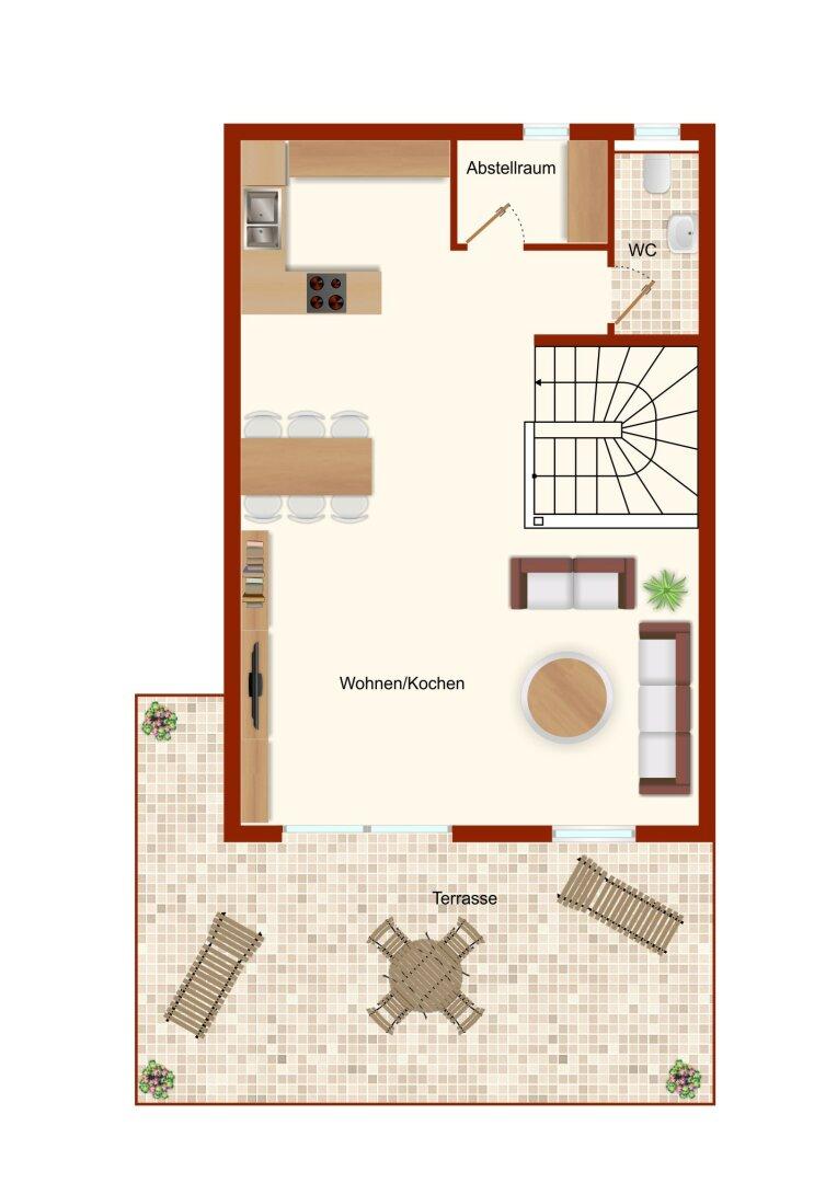 Wohnbereich 2. OG