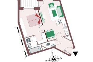 8212 – Gemütliche 2-Zimmer-Wohnung mit Loggia