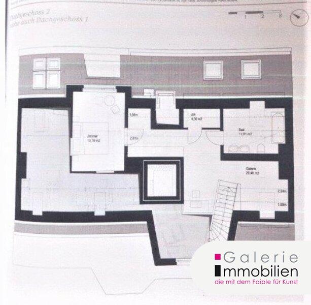 Außergewöhnliche DG-Wohnung mit Terrasse auf Wohnebene - Garagenplatz Objekt_34973 Bild_81
