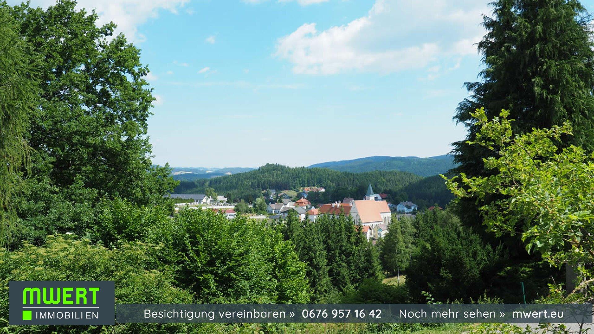 Baugrund im Waldviertel, Schönbach