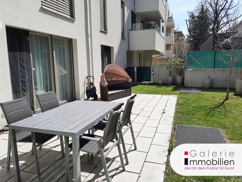 Top ausgestattete 2-Zimmer Wohnung mit großer sonniger Terrasse und Garten Objekt_34778