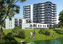 Wohnkomfort am Wasser - Neubau - 2 Zimmerwohnung mit Balkon