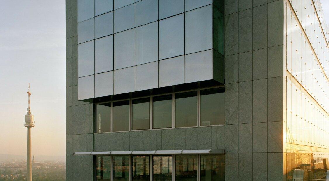 Büros mit Weitblick im ARES TOWER | Donau-City  |