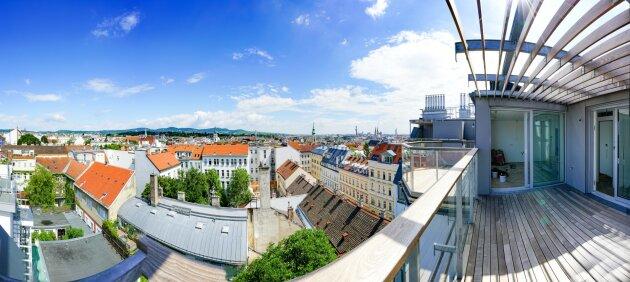 Foto von Neuerrichtete Dachgeschoßwohnung - 5 Zimmer !