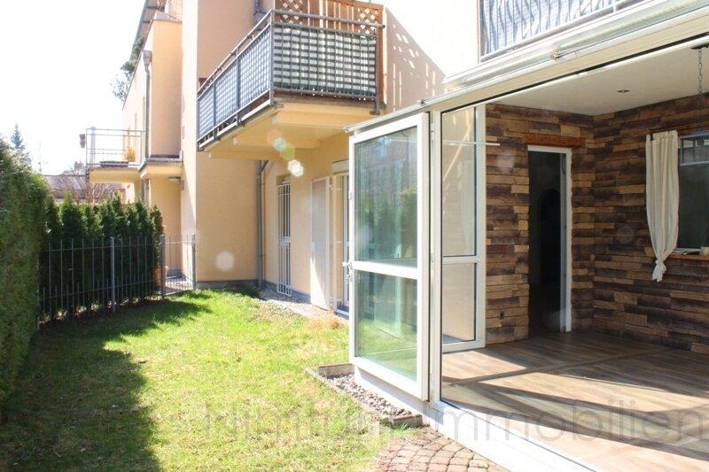 Sonnige 2,5-Zimmer-Garten-Wohnung in ruhiger Lage!