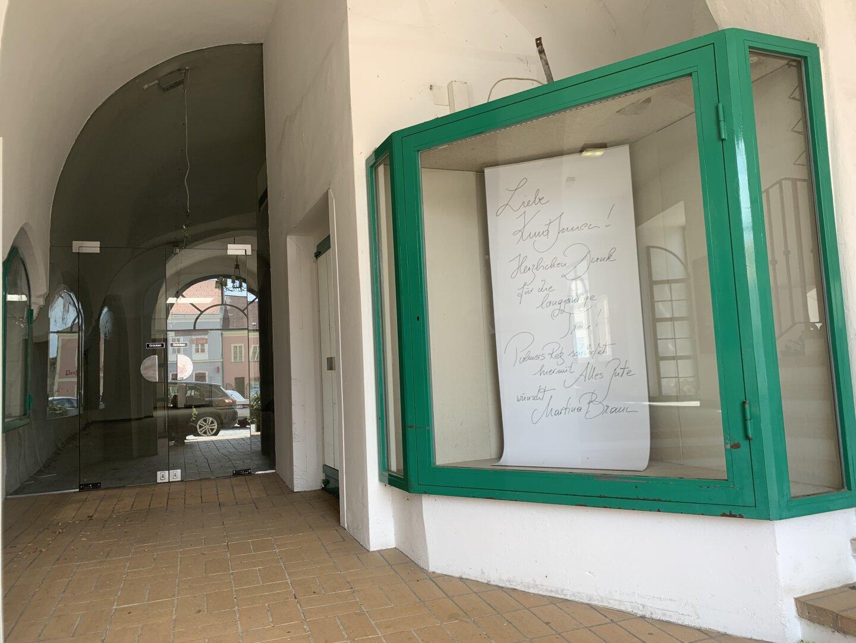 Eingang ins Lokal