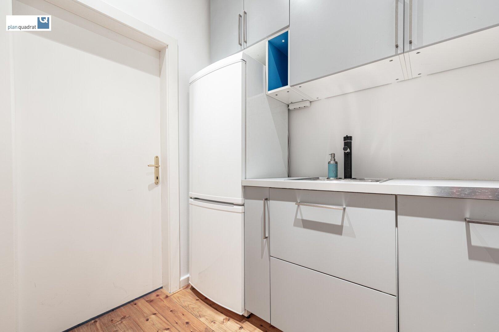 Küche / Abstellraum (ca. 4,50 m²) - Ausstattung von Vormieter im Objekt belassen