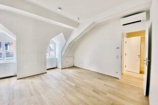 WOLLZEILE | außergewöhnliche 3-Zimmer-Dachgeschosswohnung  | U1, U3 Stephansplatz bzw. U3 Stubentor