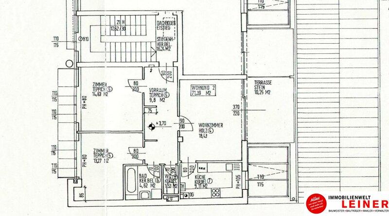 Ebergassing - 3 Zimmerwohnung im Zentrum Objekt_10433 Bild_533