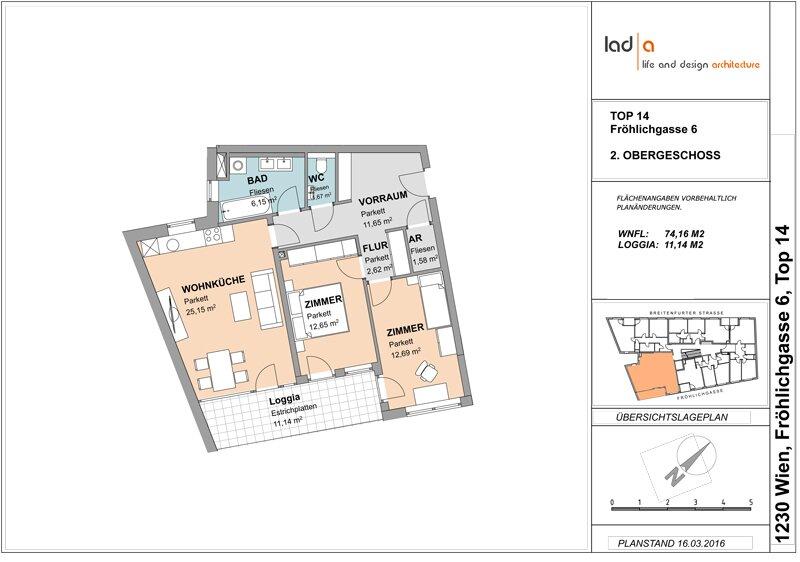 3-Zimmer Erstbezug mit Loggia /  / 1230Wien / Bild 1