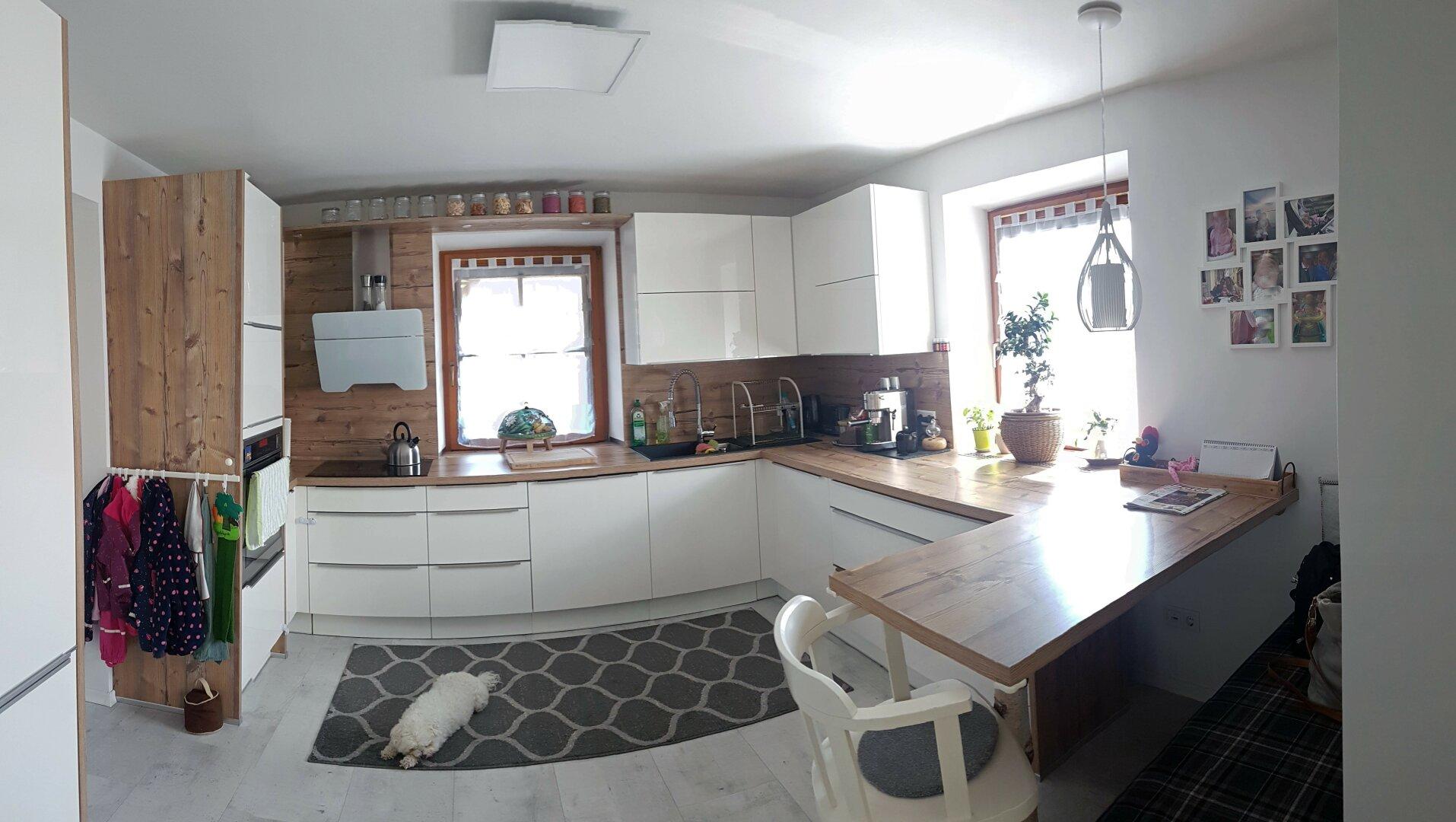Ansicht Küche, Einfamilienhaus Fieberbrunn