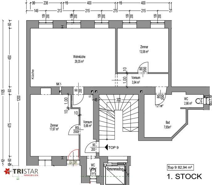 NEU! + Kernsaniert +3 Zimmer Altbau-Wohnung + 1160 Wien +