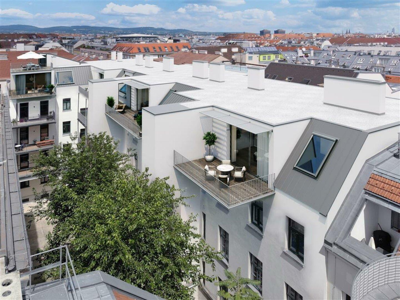 Ansicht Dachterrassenwohnungen