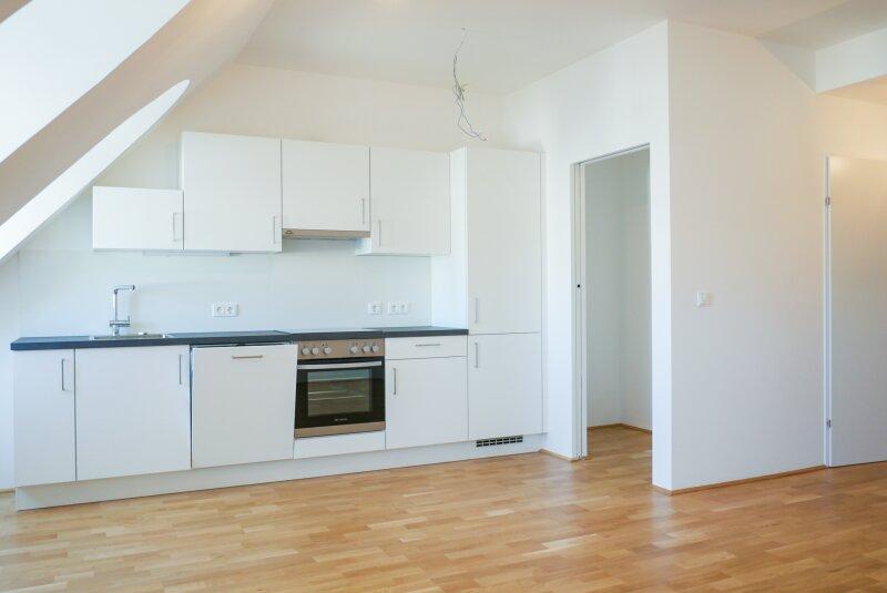 Wohnküche mit Abstellraum