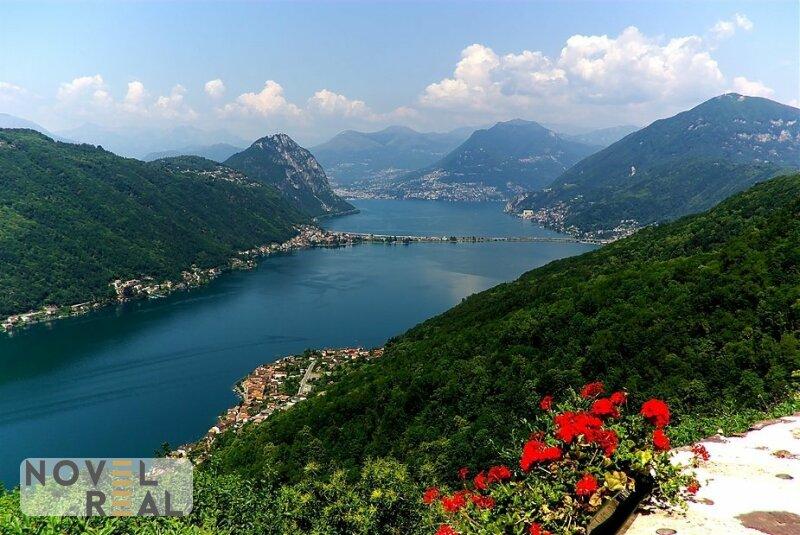 New! Terrassenwohnung in Traumlage mit fantastischem Ausblick auf Luganer See!