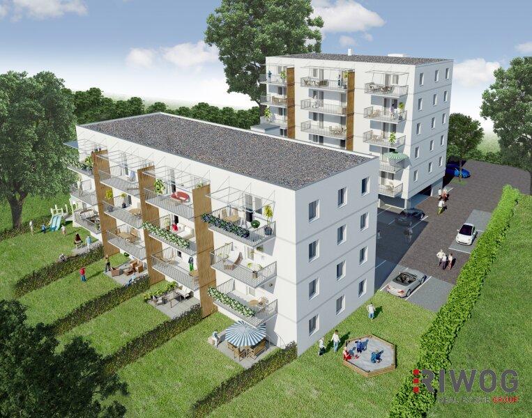 Großzügig geschnittene 2-Zimmer-Wohnung mit Balkon