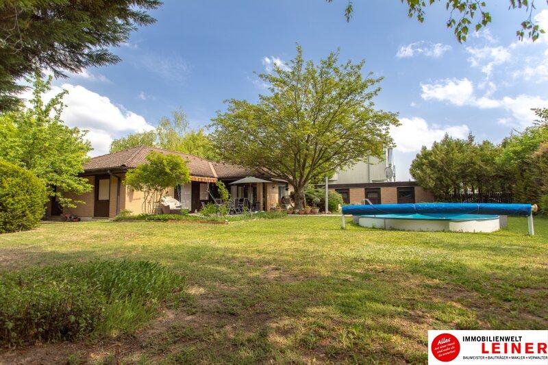 Ihr Haus * BUNGALOW* in Schwadorf mit 1077 m² Grund und Pool - verbringen Sie den nächsten Sommer im eigenen Garten Objekt_8819 Bild_645
