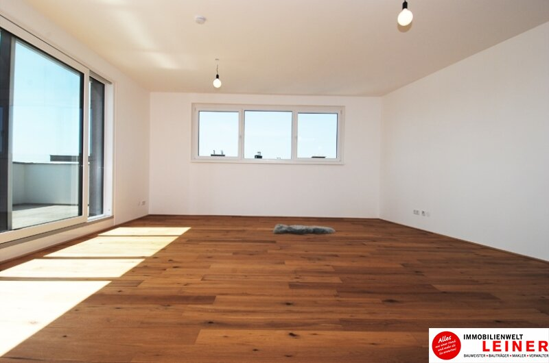 100 m² PENTHOUSE *UNBEFRISTET*Schwechat - 3 Zimmer Penthouse im Erstbezug mit 54 m² großer südseitiger Terrasse Objekt_8649 Bild_202