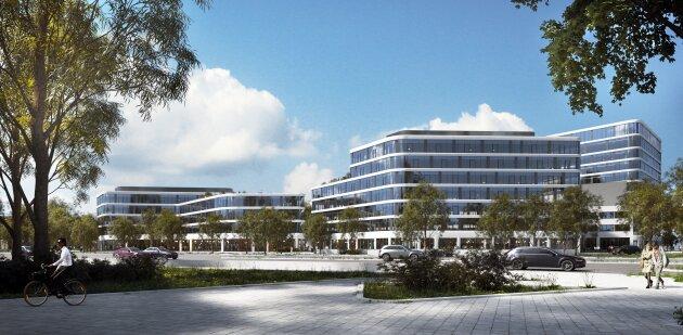 DIREKT VOM EIGENTÜMER - Moderne, flexible Büros im  Office Tower Techbase Linz