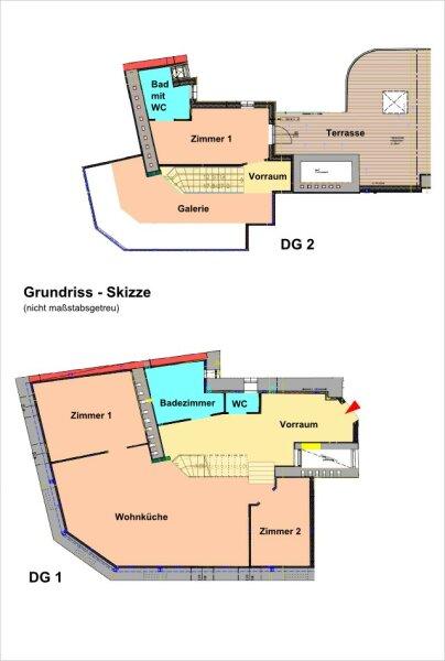 1050// Großzügige Maisonette-Dachgeschosswohnung mit Terrasse und viel Lebensgefühl! /  / 1050Wien / Bild 16