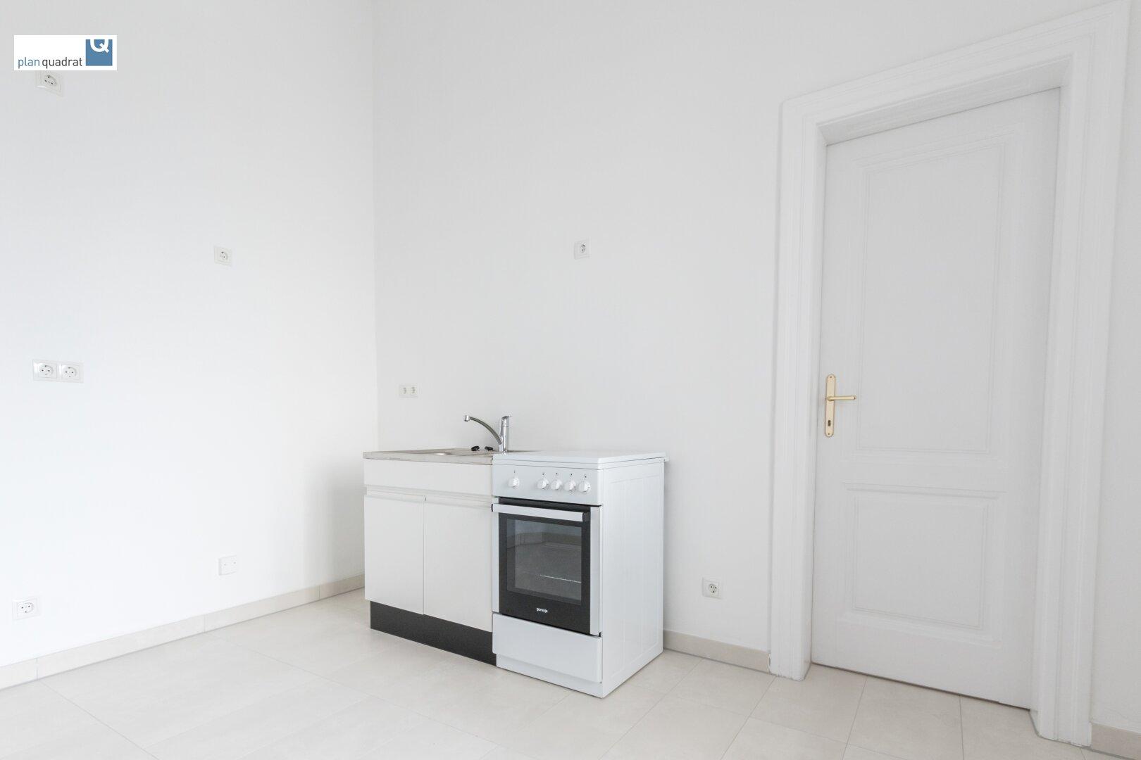 Küche / Pausenbereich (ca. 10,05 qm) - der EInbau der neuen Küche erfolgt in der KW 49 / KW 50