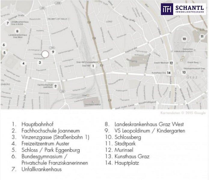JETZT ZUGREIFEN: Liebevolle, perfekte Single-Wohnung mit Loggia in 8020 Graz! /  / 8020Graz / Bild 6