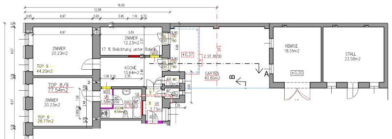Ca. 166 m² Gesamtfläche + 40 m² Garten /  / 1200Wien / Bild 2
