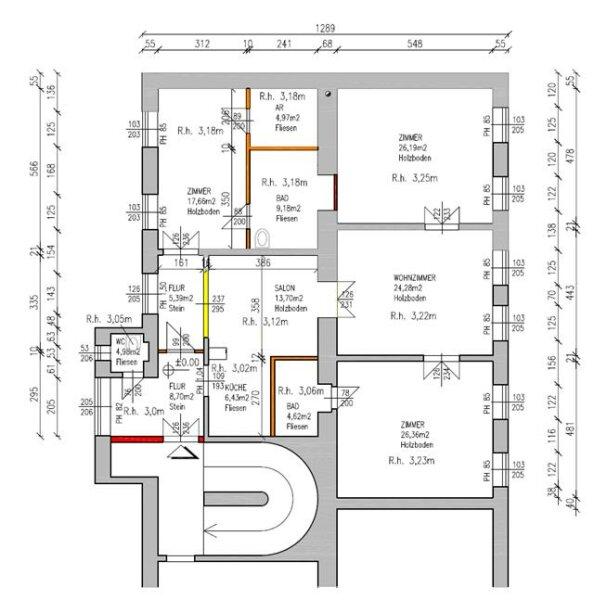 Ruhige Altbauwohnung mit Garten- und Saunamitbenützung /  / 1040Wien / Bild 17