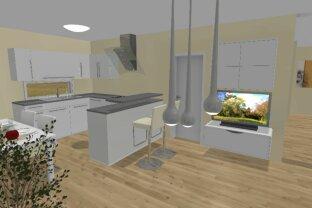 PROVISIONSFREIE 4 Zimmer Eigentumswohnung - 240 m² Garten -  Erstbezug - Cottageviertel Strasshof