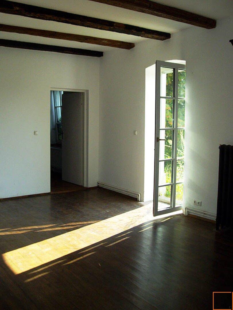 Wohnzimmer Balkontüre