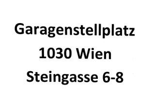 Garagenstellplatz Steingasse 6-8, 1030 Wien