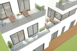 Atemberaubender Seeblick im Grünen! Reihenhäuser in attraktiver Lage, 3-4 Zimmer auf 68 m² bis 152 m² inklusive Gartens, Terrasse, Keller und Garage!