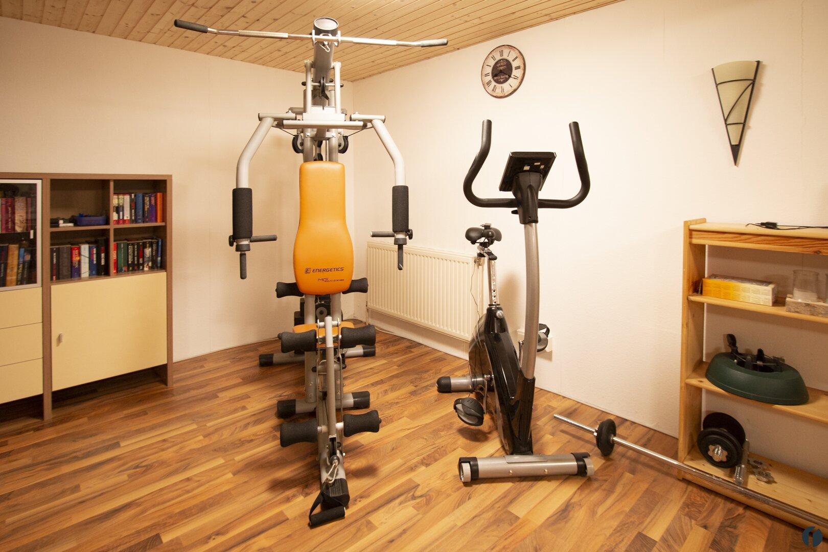 Wellness- und Trainingsraum