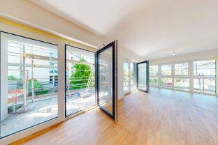 Neubauprojekt mit 26 WE von 40 - 107 m² mit Garten oder Balkon/Terrasse - Top 23